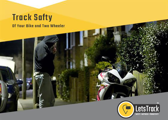 Reduce The Risk Of Your Bike Being Stolen With Letstrack Tracking Device & App